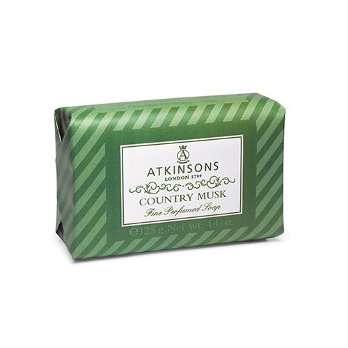 ATKINSONS COUNTRY MUSK SAPONETTA 125GR
