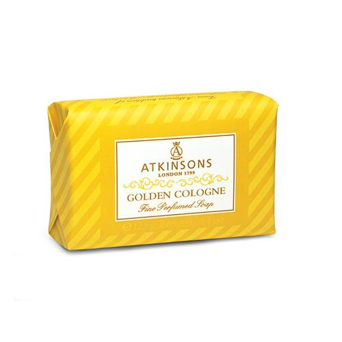 ATKINSONS GOLDEN COLOGNE SAPONETTA 125GR