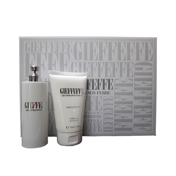 GIEFFEFFE BIANCO ASSOLUTO EDT 100ML VAPO + SHOWER GEL 100ML